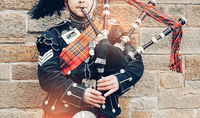 Bagpipes Scotland