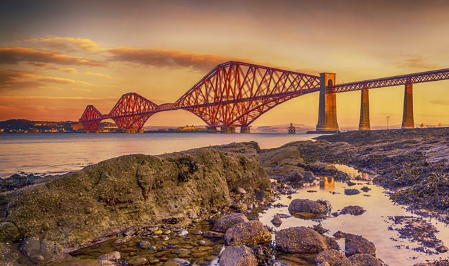 Forth Rail Bridge Dunfermline