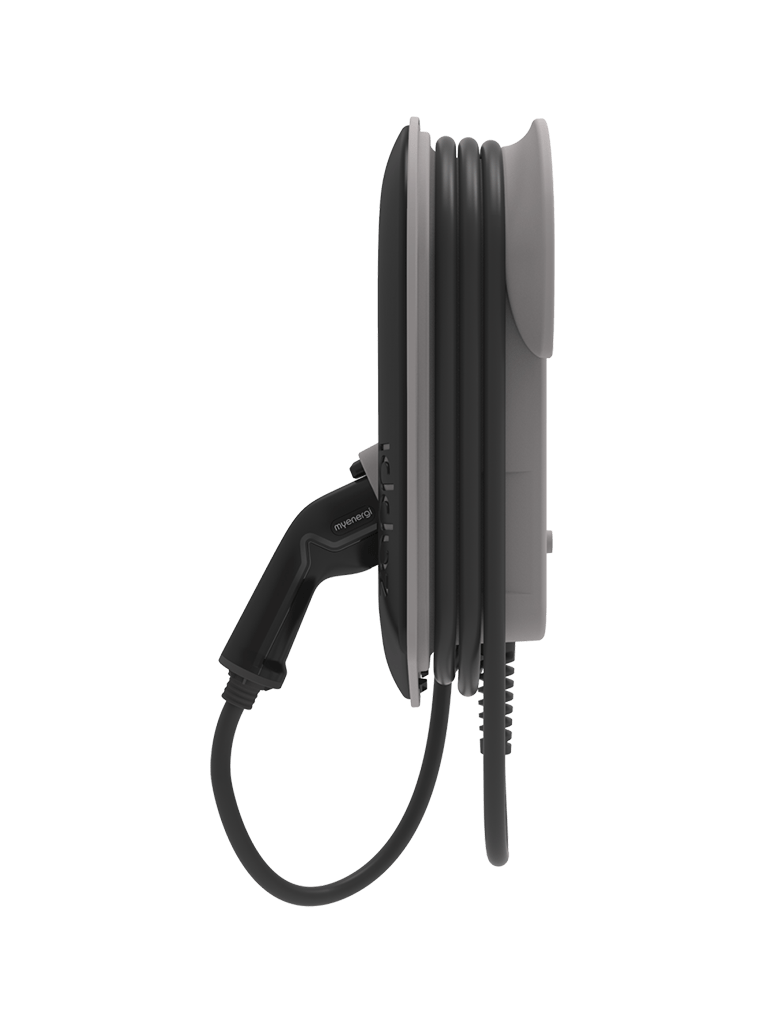Zappi Side View EV Charger