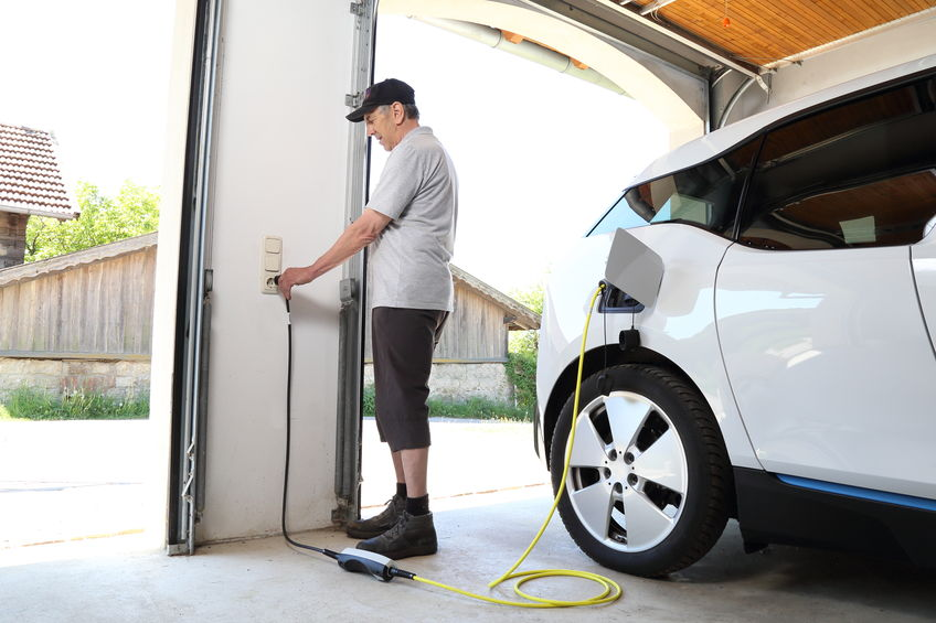 Charging Your Electric Car At Home